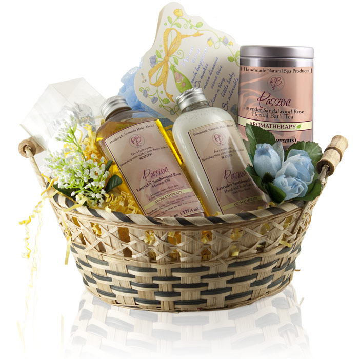 New Mom Spa Gift Basket Idea Home Spa Gift To Pamper