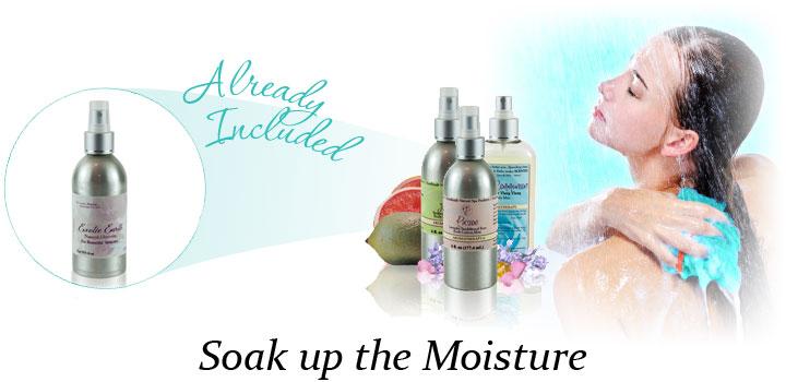 glycerin to moisturize after showering