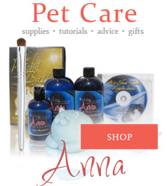 anna natural pet grooming brand