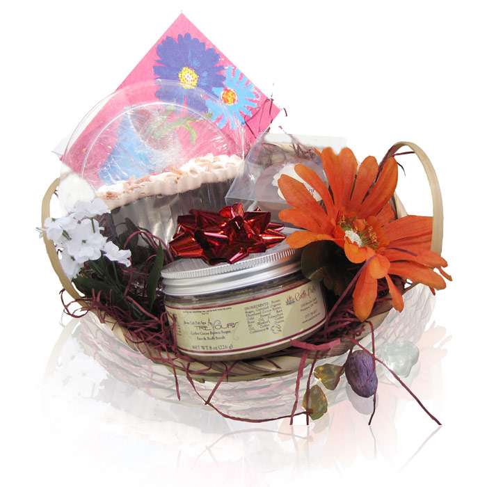 Happy Birthday Gift Basket Home Spa Experience