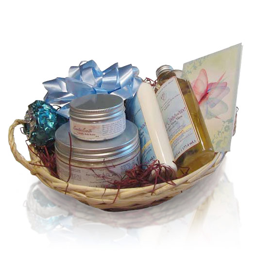 Spa Gift Baskets For Women Luxury Spa Bath Lavender Gift
