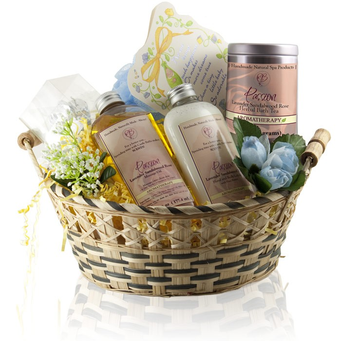 New Mom Gift Basket Home Spa Gift To Pamper