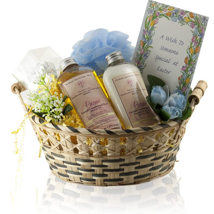 Special Easter Gift Basket From Castle Baths Sexy Easter