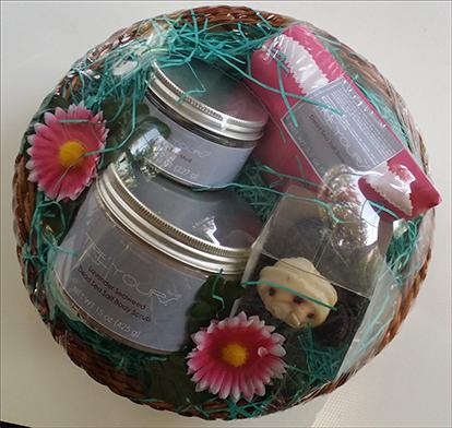 Dead Sea Spa Gift basket