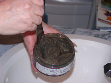 mud mask stir