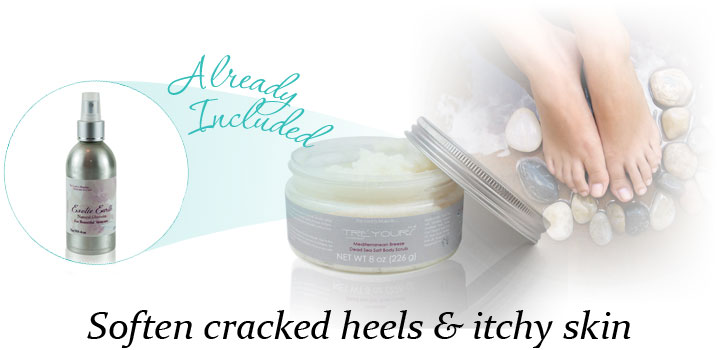 natural glycerin for cracked heels itchy skin